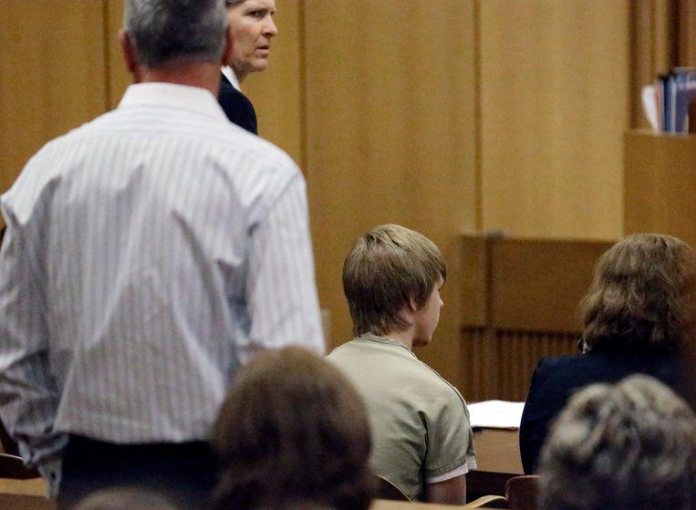 Ethan Couch in de rechtbank in februari 2014.