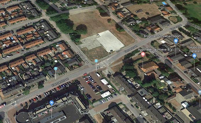 Hart van Heteren moet de grote lege vlakte tussen de Flessestraat, Narcissenstraat en Onze Lieve Vrouwestraat gaan vullen, waarmee Heteren een winkelhart krijgt.
