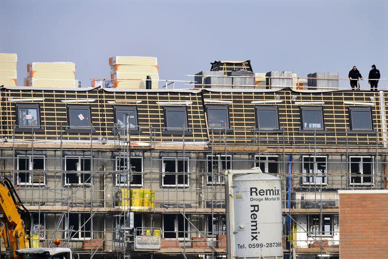 Nieuwbouw in Nijmegen. 'Middeninkomens vinden steeds moeilijker passende en betaalbare woonruimte in steden.' Beeld Hollandse Hoogte