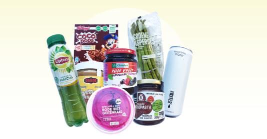 Genomineerde producten voor het Gouden Windei 2019.