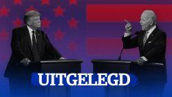 UITGELEGD. Hoe verliep het debattussen Trump en Biden?