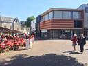 Het pand aan de Markt in Tiel.