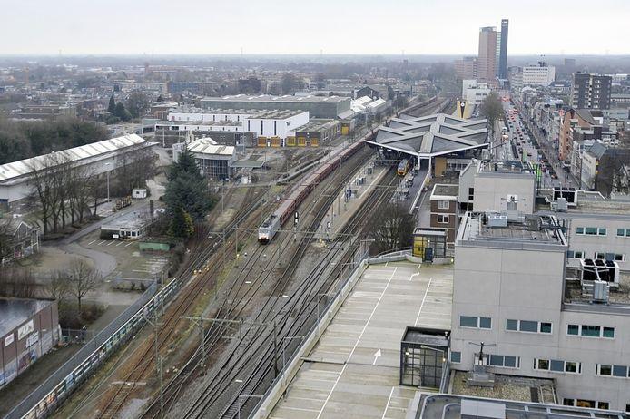 Het hart van de Spoorzone. Foto PVE