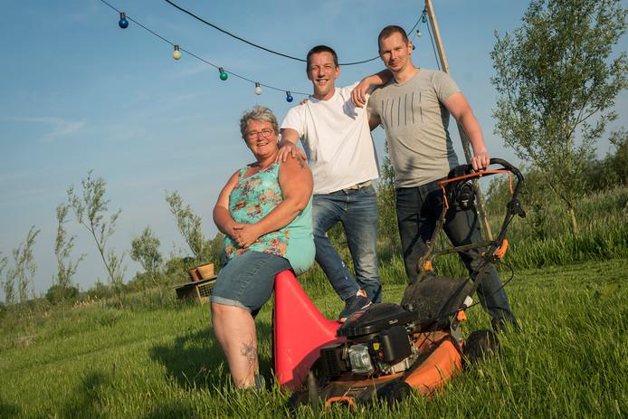VLNR: Ellen Hazebroek, Jasper Van Nuijs en Kees de Kunder.