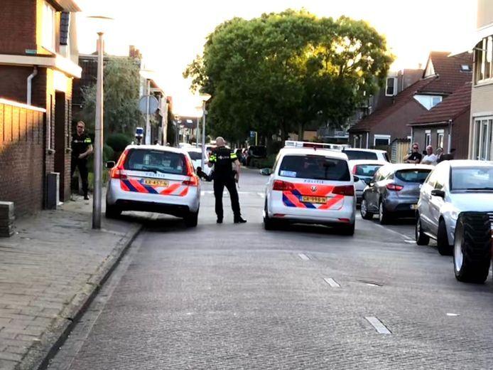 Eén van de verdachten van de schietpartij op de Westerval in Enschede werd aangehouden in de Sumatrastraat in Enschede.