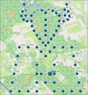 Zeventig teams kwamen gisteren af op het geocaching-event in de Maashorst. Geo Team Maashorst heeft dit jaar ongeveer 75 caches verstopt in het natuurgebied.