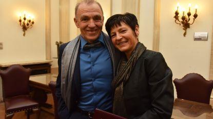 Ex-bondscoach Rudy De Bie huwt met collega Veronique in Wetteren