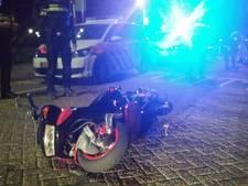 Bestuurders onderuit tijdens twee achtervolgingen in Vlissingen