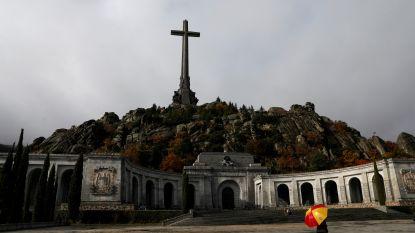 Stoffelijke resten van Franco worden donderdag opgegraven
