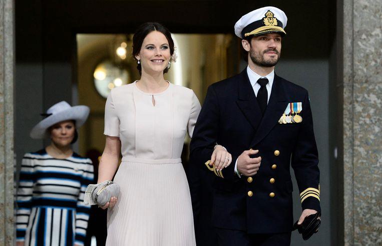 Sofia en haar prins Carl Philip