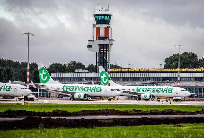 Rotterdam is er niet helemaal gerust op dat Rotterdam The Hague Airport inderdaad niet groeit door de nieuwe luchtvaartnota.