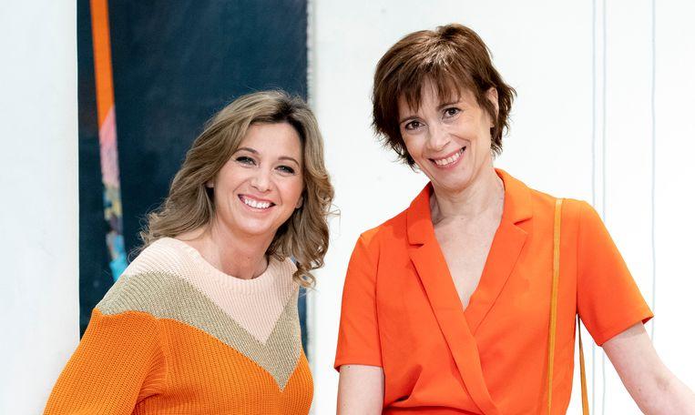 Nathalie Wijnants en Marijke Hofkens.