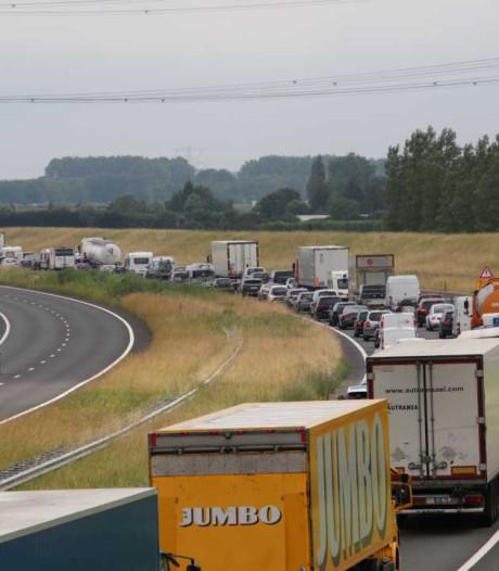Weg weer open na ongeluk op A58 Tilburg richting Eindhoven