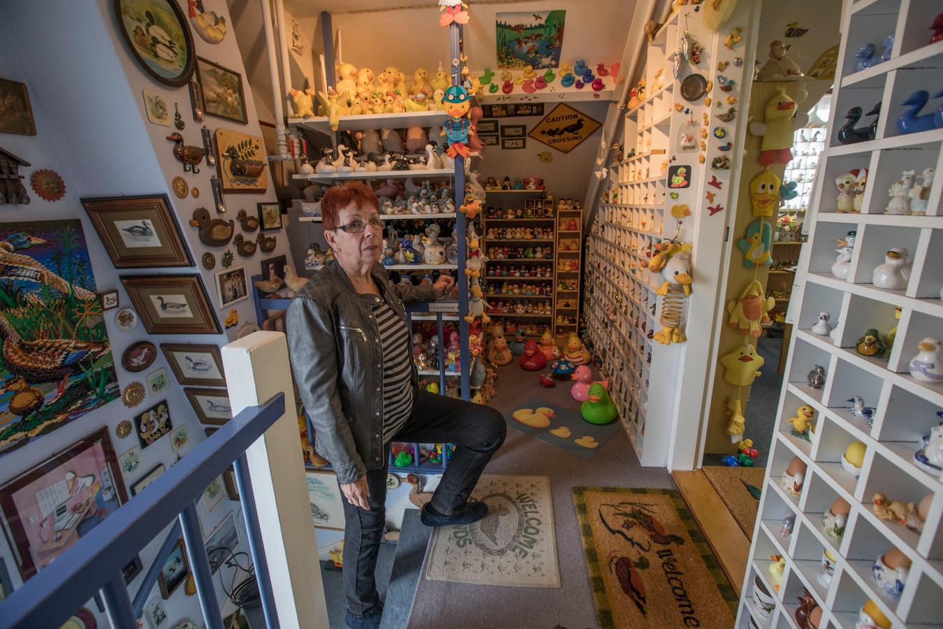 De verzameling eenden van Hetty Okkerse uit Veldhoven