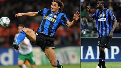 """Ibrahimovic en Balotelli waren niet bepaald de beste vrienden bij Inter: """"Hij zei me dat ik beter naar huis kon gaan om te studeren"""""""