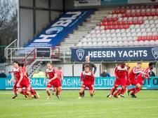 FC Oss oefent in Uden tegen Oud-Heverlee