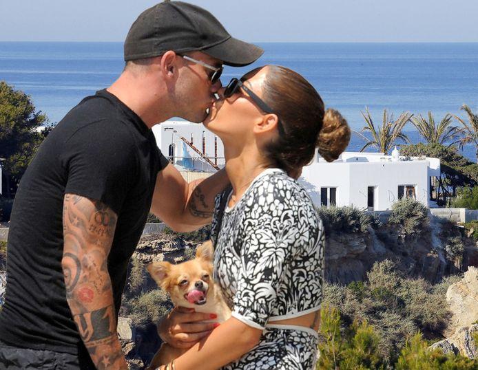 Op Ibiza, aan het strand van Cala Tarida, werd de verpauperde villa van Wesley en Yolanthe, die ooit van haar vader was, grondig verbouwd. Maar niet door het bedrijf van Etten-Leurenaar Jeroen Nuijten, zoals was afgesproken.