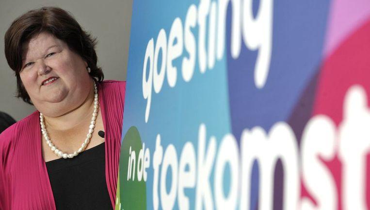 """Vlaanderens populairste politica, Maggie De Block, heeft """"goesting in de toekomst""""."""