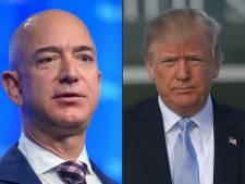 Waarom Trump een bloedhekel heeft aan Amazon (en de webreus miljarden zag verdampen)