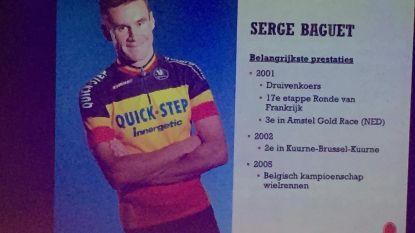 Serge Baguet krijgt postuum eerbetoon voor uitzonderlijke wielercarrière