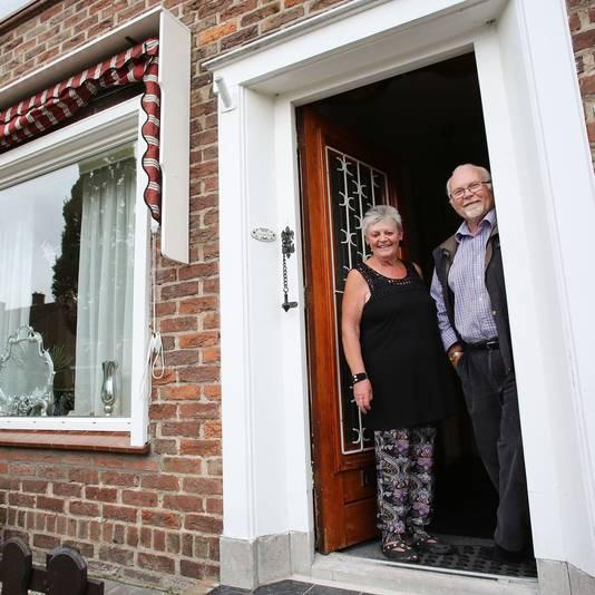 Cock van den Berg en zijn vrouw Ditje