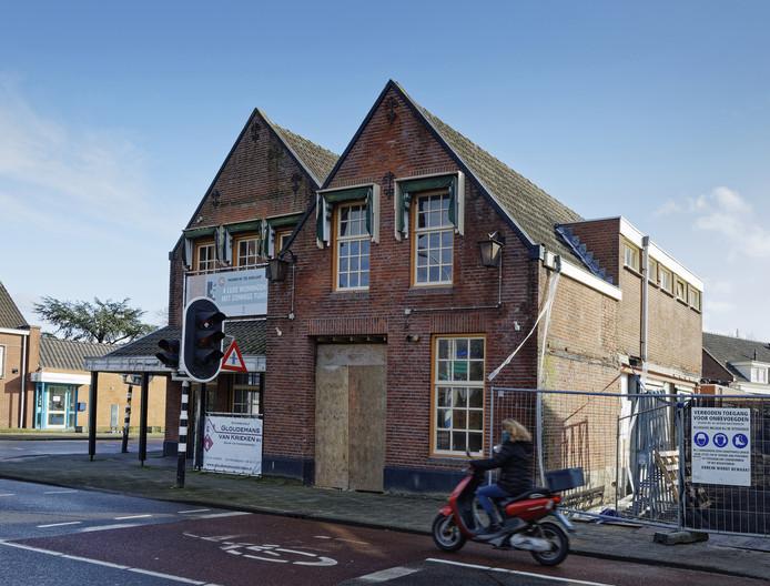 Genoeg plannen voor nieuwbouw in Boxtel. Nu moeten ze nog uitgevoerd worden. Zo ook bij Café de Adelaar.