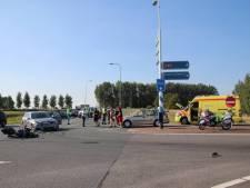 Afslaande auto oorzaak ongeval met motorrijder (27) Kruiningen