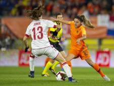 Van de Donk kijkt uit naar clash met Zwitserland: 'Wil nu echt naar het WK toe'