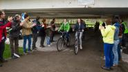 Groen Drieske applaudisseert voor fietsers