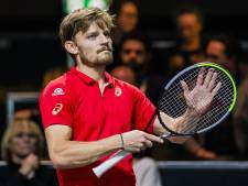 Goffin ne jouera pas le prochain match de Coupe Davis