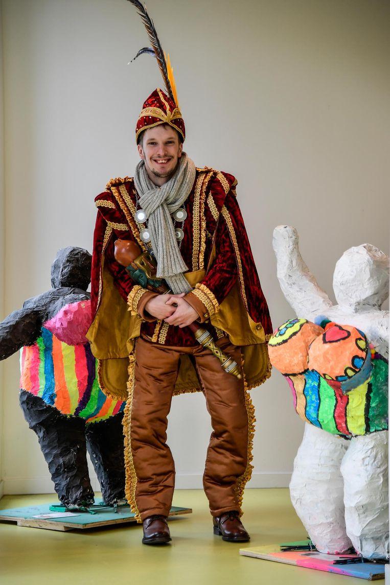 """Alex De Kegel, Prins Carnaval 2018. """"Hier heb ik jaren naar toegeleefd."""""""