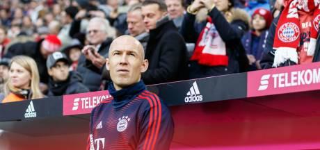 Bayern definitief zonder Robben tegen Ajax