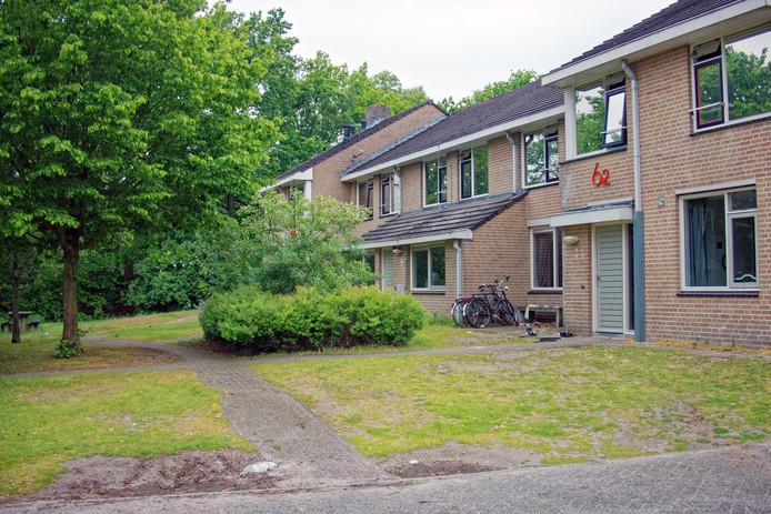 Eén van de gebouwen op Lievenshove die straks - antikraak - in de verhuur gaan.