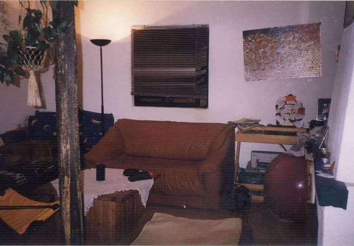 Le salon de la maison portugaise de Christian Brückner