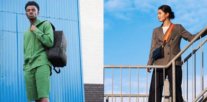 Campagnebeelden van O My Bag.
