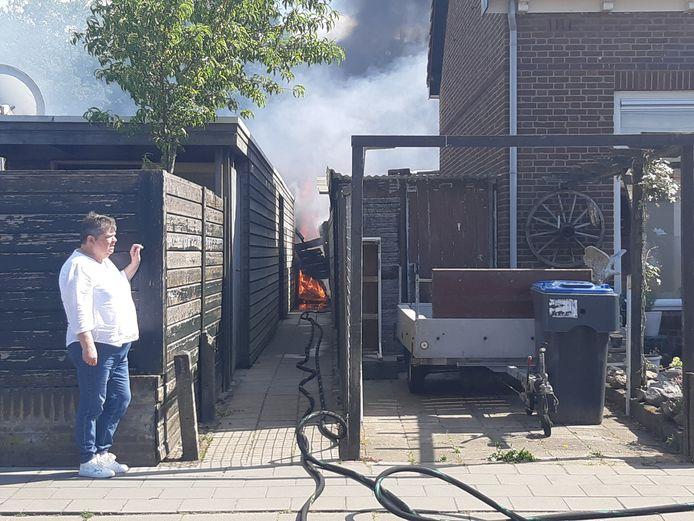 Schuurbrand in Harderwijk