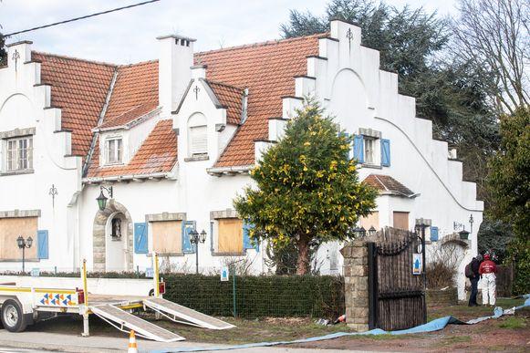 In de spookvilla in Dilbeek werd in februari nog gezocht naar sporen van Mohamed Harrouchy.