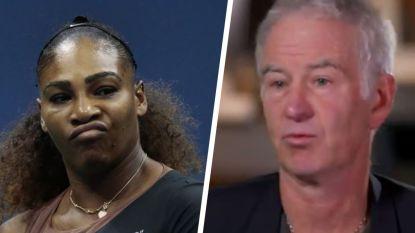 """John McEnroe, drie maanden voor hij zestig wordt, nog een keertje vernietigend voor Serena Williams: """"Laat me deftig trainen en ik versla haar"""""""