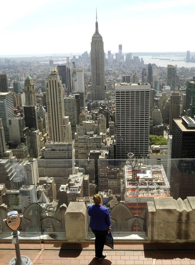 Zicht op New York Beeld afp