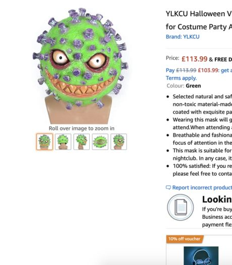Amazon retire de la vente des masques d'Halloween sur le thème du coronavirus