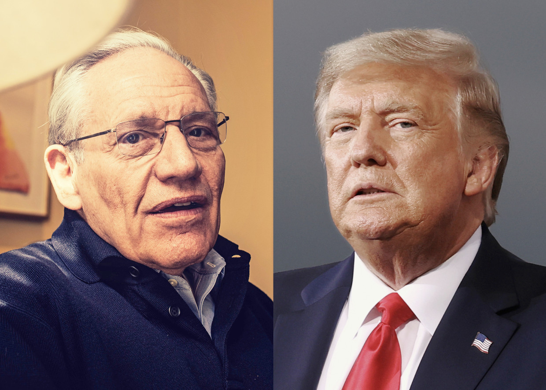 Bob Woodward, Donald Trump Beeld HUMO