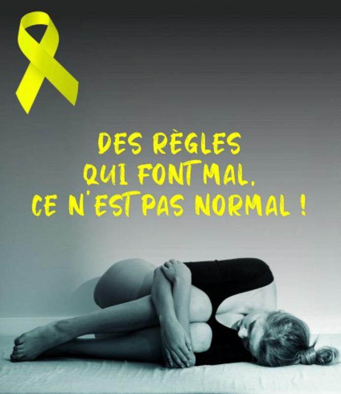 La Province de Liège lance a lancé une campagne de sensibilisation à l'endométriose.