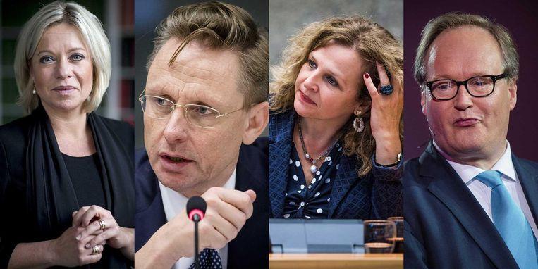 Wie volgt Zijlstra op? Wordt het een oud-minister of een ervaren buitenlandwoordvoerder? Beeld null
