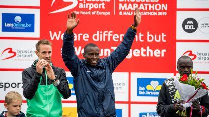 Michael Chege en Kabi Nassam toppen marathon in Brussel, Naert tweede op halve afstand