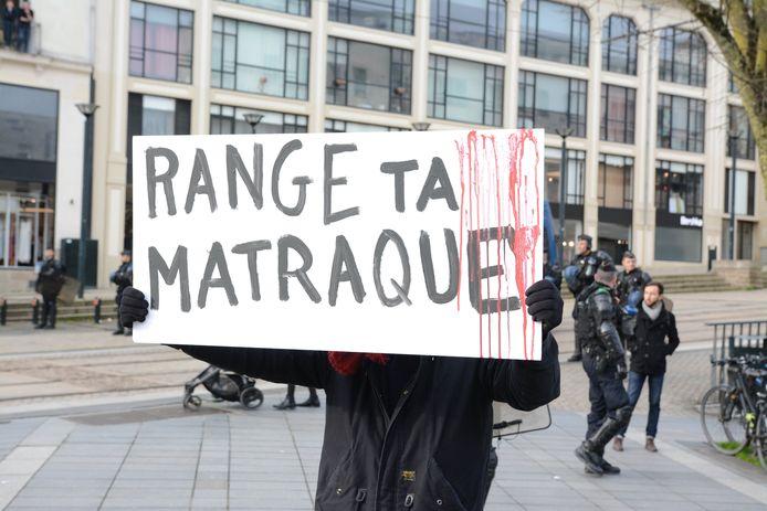 Manifestation contre les retraites à Nantes, ce samedi