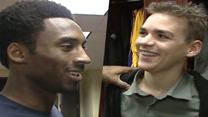 Jonge Vlaamse aidspatiënt ontmoette Kobe Bryant in 2001