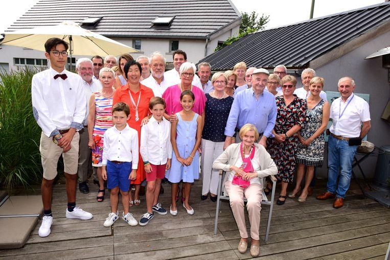 Yvan en Nicole vierden met familie en vrienden een feestje