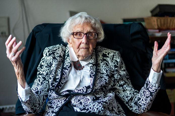 Maria Piël is op 102-jarige leeftijd overleden.