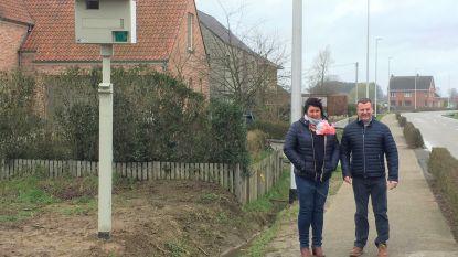 Flitspaal verhuist naar Eindhoutseweg