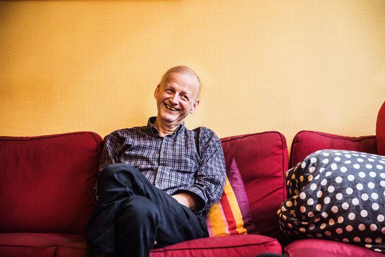 Dirk Van Duppen bij zijn afscheidsinterview voor onze krant.
